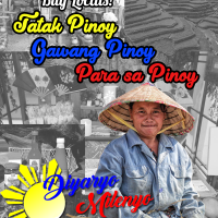 Tangkilikin ang sariling atin: Buy Locals, Tatak Pinoy, Gawang Pinoy, para sa Pinoy