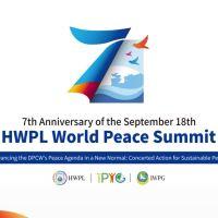 World Peace Summit, nanawagan para sa Sama-samang Pagkilos para sa Pangmatagalang Kapayapaan sa Panahon ng New Normal